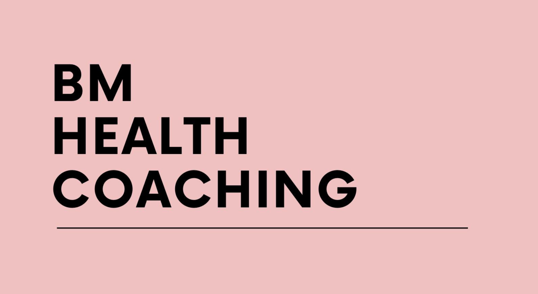 Portfolio Health Coaching